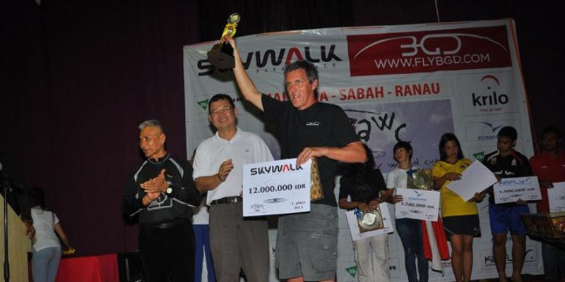 Matjaž Ferari? ganhou o Paragliding Accuracy World Cup 2013, mas foi uma competição acirrada!