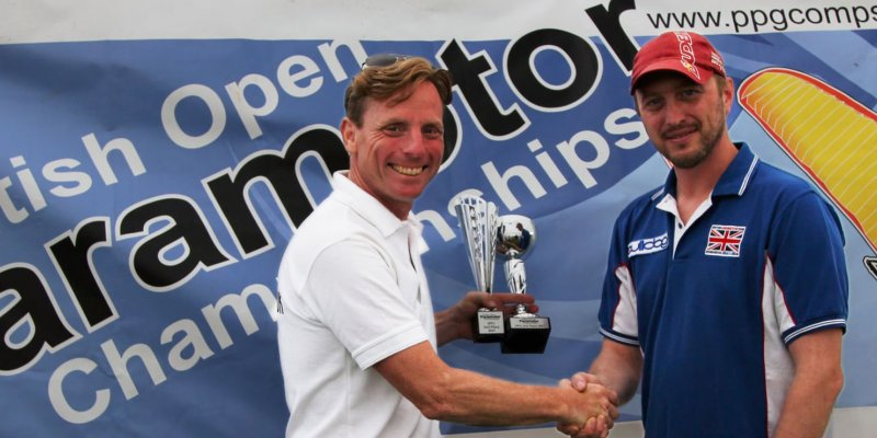 Mike Page second in British Paramotor Championships 2021